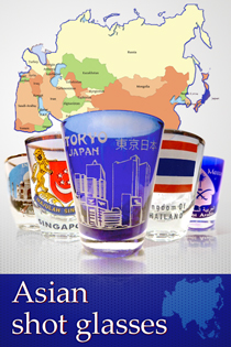 Asian shot glasses