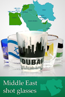 Middle East shot glasses