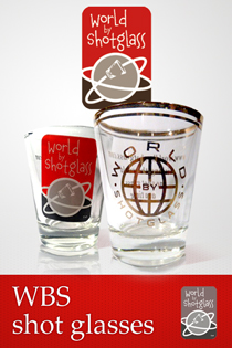 WBS shot glasses