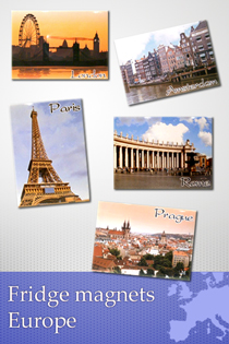 Fridge magnets Europe