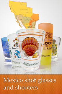 Mexico Shot Glass Collection